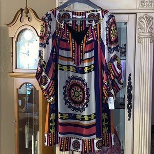 New Diane Von Furstenberg Silk Dress